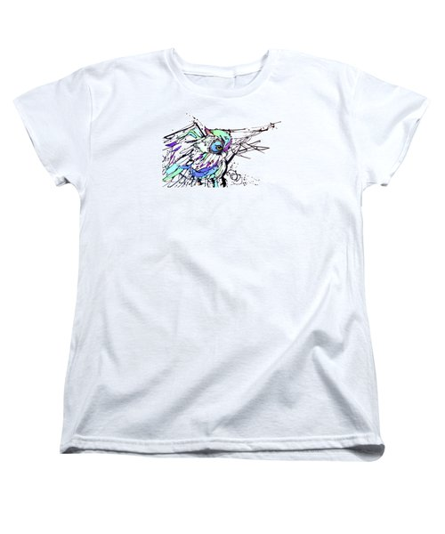 Women's T-Shirt (Standard Cut) featuring the painting Scouting by Nicole Gaitan