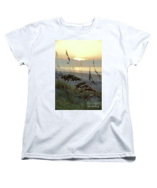 Sea Oats At Sunrise Women's T-Shirt (Standard Fit)