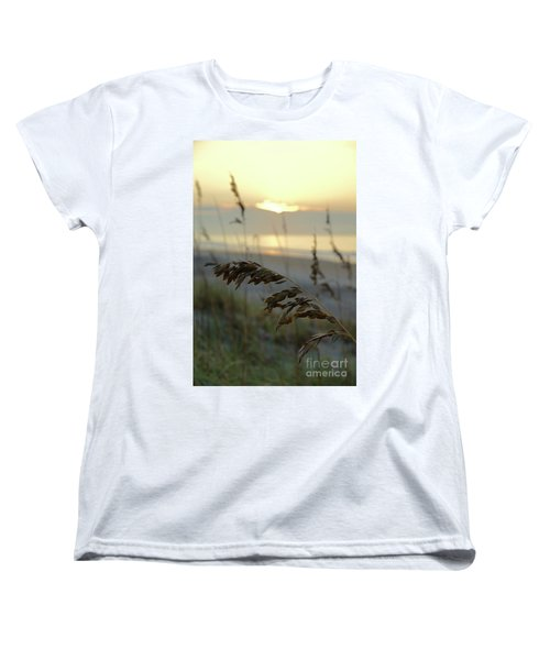 Sea Oats At Sunrise Women's T-Shirt (Standard Fit)