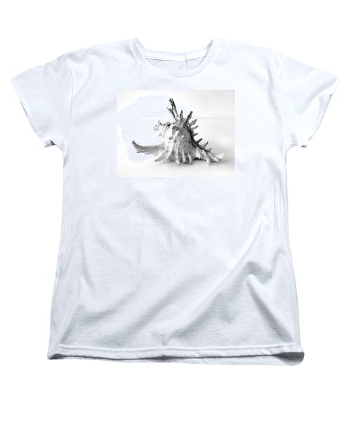 Women's T-Shirt (Standard Cut) featuring the photograph Sea Shell by Gina Dsgn