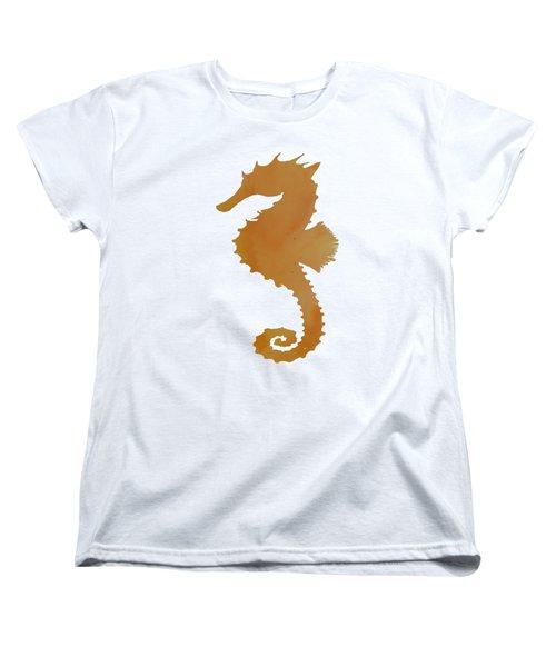 Seahorse Women's T-Shirt (Standard Cut) by Mordax Furittus