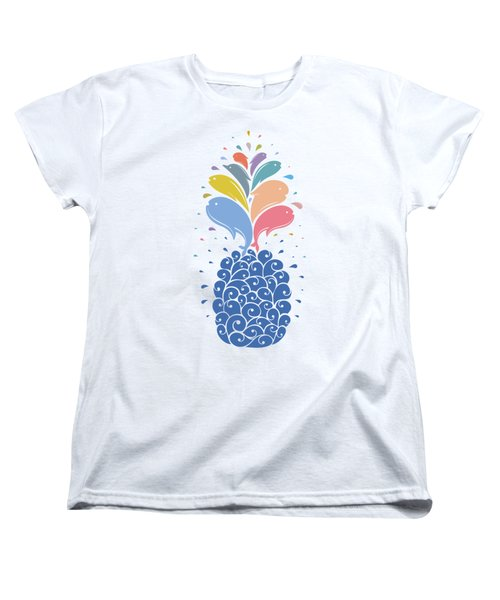 Seapple Women's T-Shirt (Standard Cut) by Mustafa Akgul