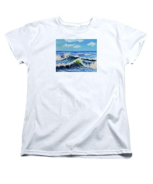 Seascape No.3 Women's T-Shirt (Standard Cut) by Teresa Wegrzyn