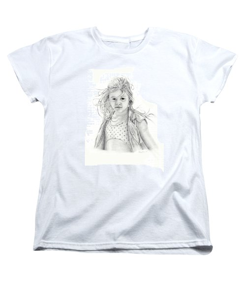 Seashells Women's T-Shirt (Standard Cut) by Mayhem Mediums