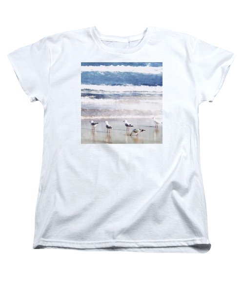 Seaspray Women's T-Shirt (Standard Cut) by Holly Kempe