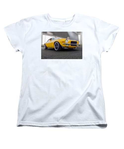 Second Gen Camaro Women's T-Shirt (Standard Cut) by Gary Warnimont