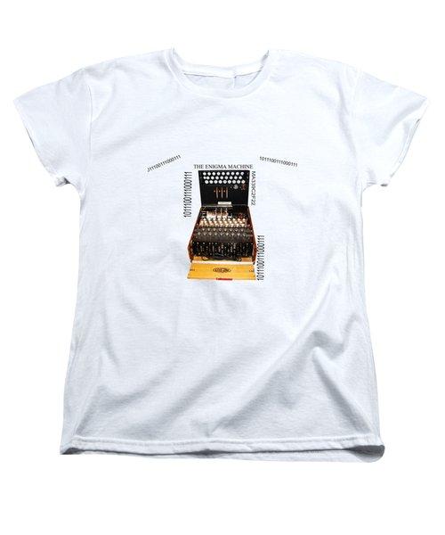 Secret Messages  Women's T-Shirt (Standard Cut) by Tom Conway