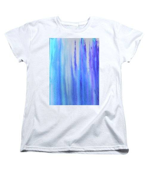 See Blue Sea Women's T-Shirt (Standard Cut) by Cyrionna The Cyerial Artist