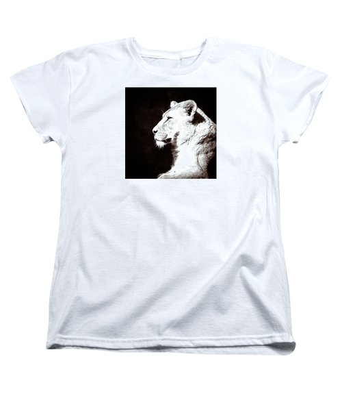 Women's T-Shirt (Standard Cut) featuring the photograph Seeing Double I by Wade Brooks