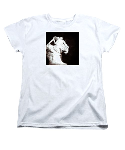 Women's T-Shirt (Standard Cut) featuring the photograph Seeing Double II by Wade Brooks