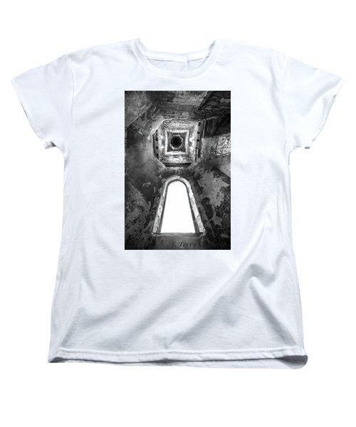 Seeing From With In Women's T-Shirt (Standard Cut) by Terry Cosgrave