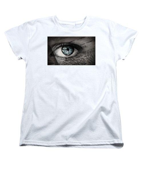 Seek The Truth Women's T-Shirt (Standard Cut) by David Norman