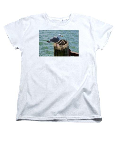 Seagull Family Women's T-Shirt (Standard Cut)