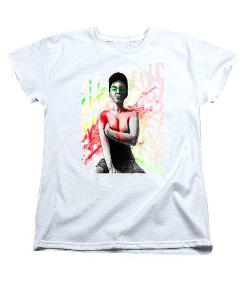 Self Love Xoxo Women's T-Shirt (Standard Cut) by AC Williams