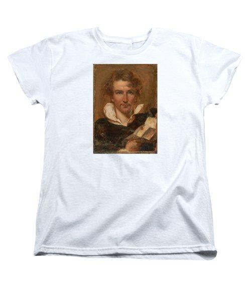 Self Portrait Women's T-Shirt (Standard Cut) by William Etty