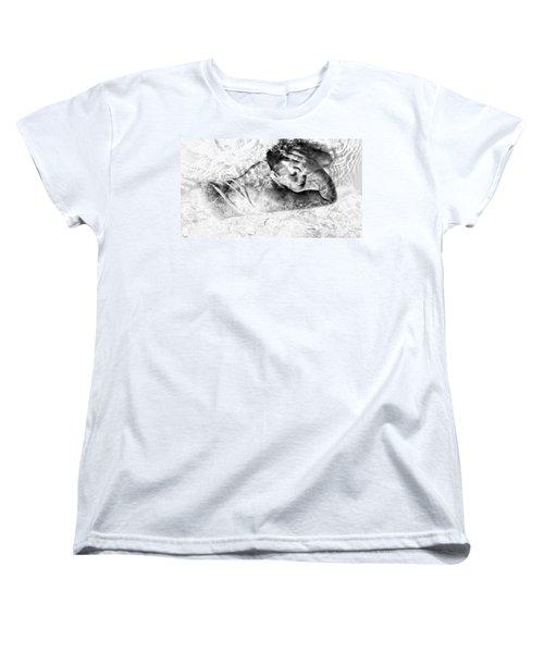 Sensation Women's T-Shirt (Standard Cut) by Jessica Shelton