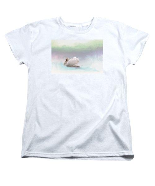 Serenity Women's T-Shirt (Standard Cut) by Annie Snel
