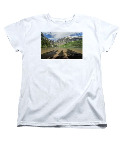Shadows Women's T-Shirt (Standard Cut) by Alpha Wanderlust