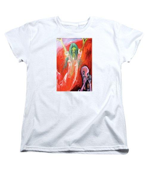 She-angel Women's T-Shirt (Standard Cut) by Kenneth Agnello