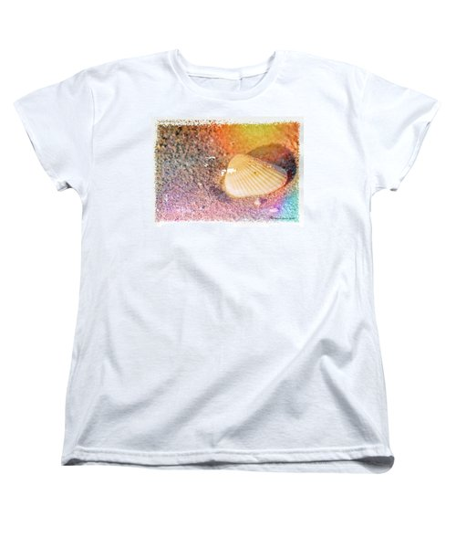 Women's T-Shirt (Standard Cut) featuring the photograph Shelling Out by Marvin Spates