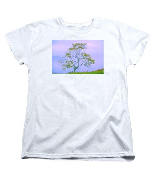 Shepherd Of The Valley Women's T-Shirt (Standard Cut) by Az Jackson