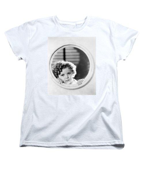 Shirley Temple (1928-2014) Women's T-Shirt (Standard Cut) by Granger