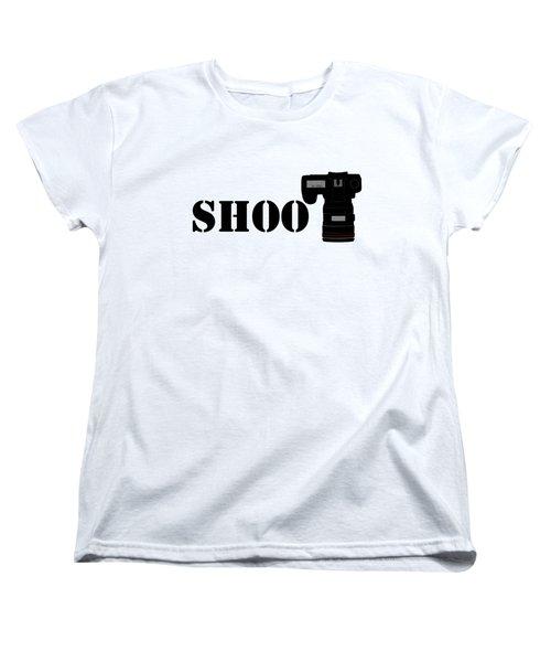 Shoot Women's T-Shirt (Standard Cut) by Roger Lighterness