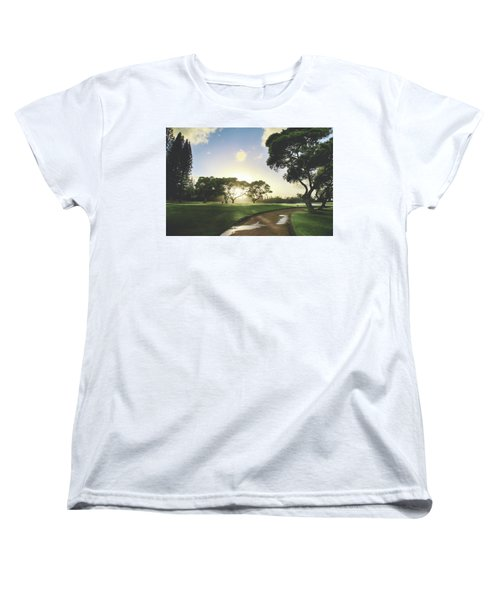 Women's T-Shirt (Standard Cut) featuring the photograph Show Me The Way by Laurie Search