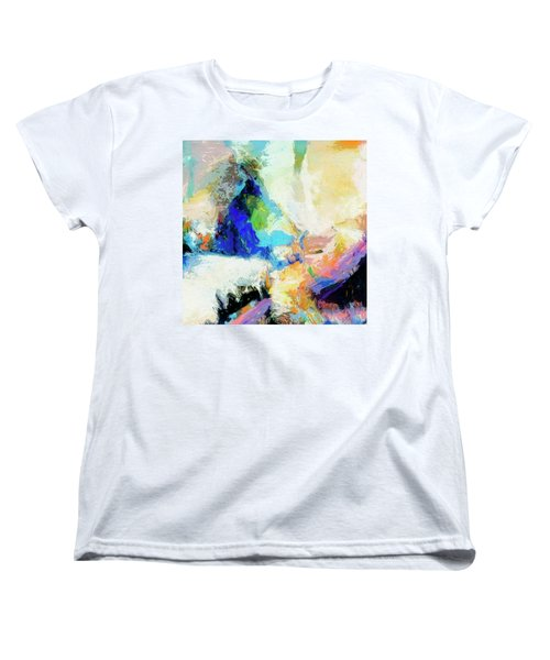 Women's T-Shirt (Standard Cut) featuring the painting Shuttle by Dominic Piperata