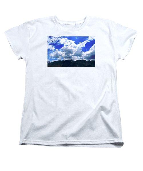 Sierra Nevada Cloudscape Women's T-Shirt (Standard Cut) by Matt Harang