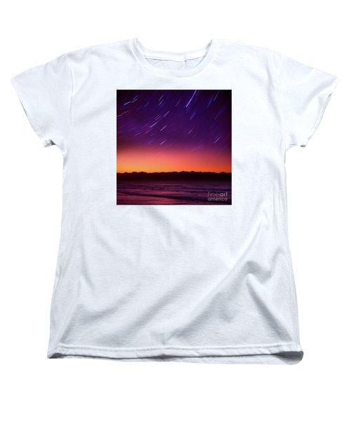 Silent Time Women's T-Shirt (Standard Cut) by Tatsuya Atarashi