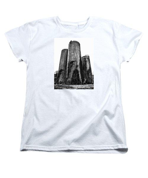 Silos Women's T-Shirt (Standard Cut) by Tamera James