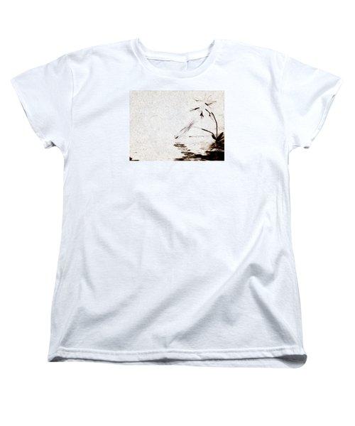 Simple Reflections Women's T-Shirt (Standard Cut) by Mario Carini