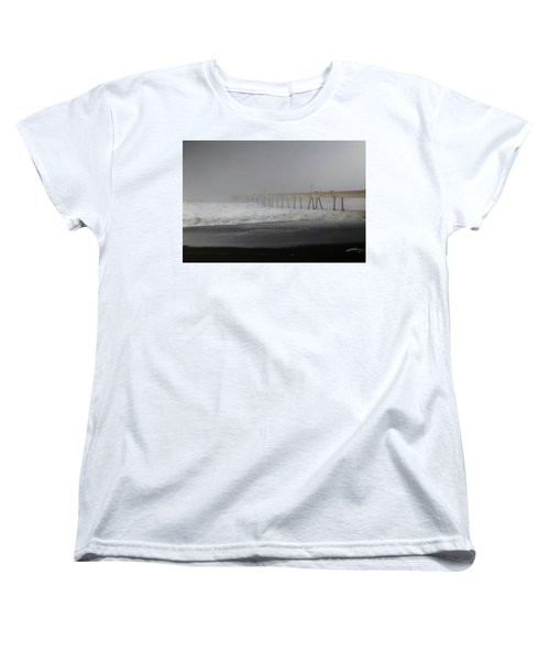 Women's T-Shirt (Standard Cut) featuring the photograph Since You Left  by Laurie Search
