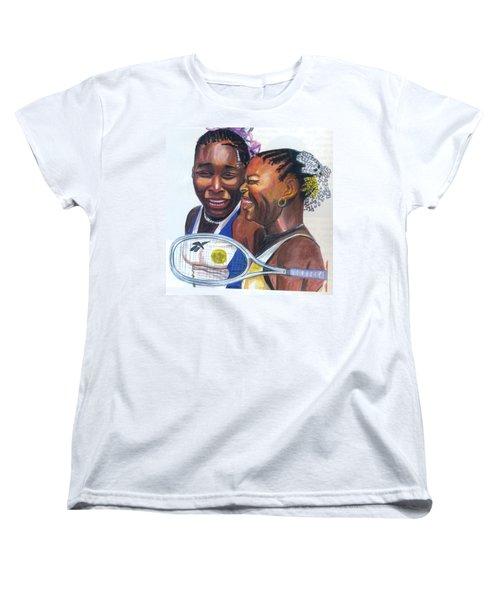 Sisters Williams Women's T-Shirt (Standard Cut) by Emmanuel Baliyanga