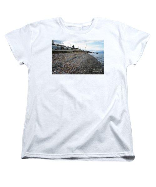 Sit Back And Enjoy The Sea Women's T-Shirt (Standard Cut) by Ana Mireles