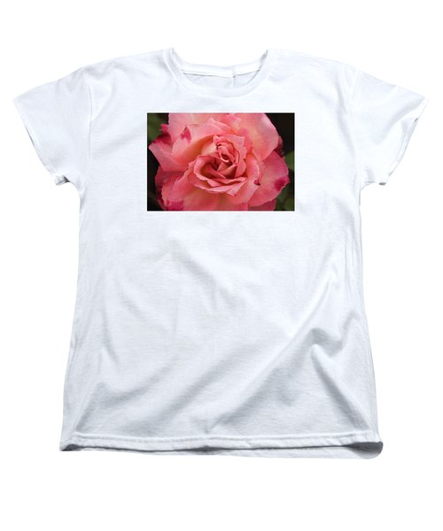 Skc 4942 The Pink Harmony Women's T-Shirt (Standard Cut) by Sunil Kapadia