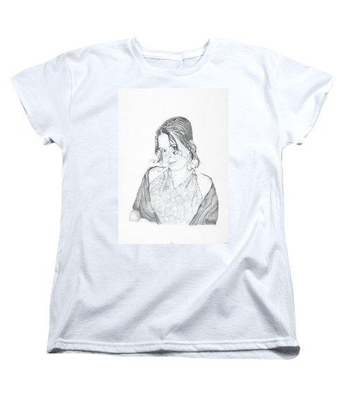 Women's T-Shirt (Standard Cut) featuring the drawing Skye by Mayhem Mediums