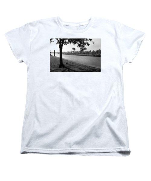 Skyline Maastricht Women's T-Shirt (Standard Cut) by Nop Briex