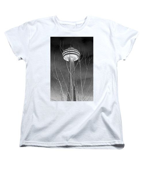 Women's T-Shirt (Standard Cut) featuring the photograph Skylon Tower by Valentino Visentini