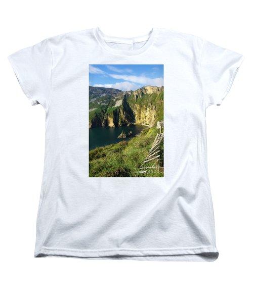 Women's T-Shirt (Standard Cut) featuring the photograph Slieve League Cliffs Eastern End by RicardMN Photography