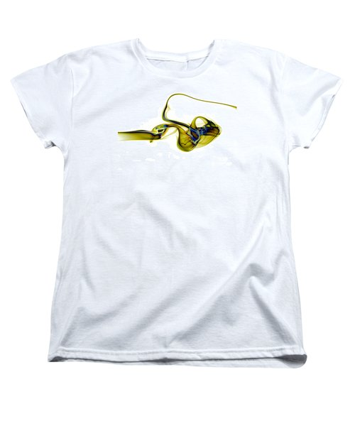 Women's T-Shirt (Standard Cut) featuring the photograph smoke XXXVII by Joerg Lingnau
