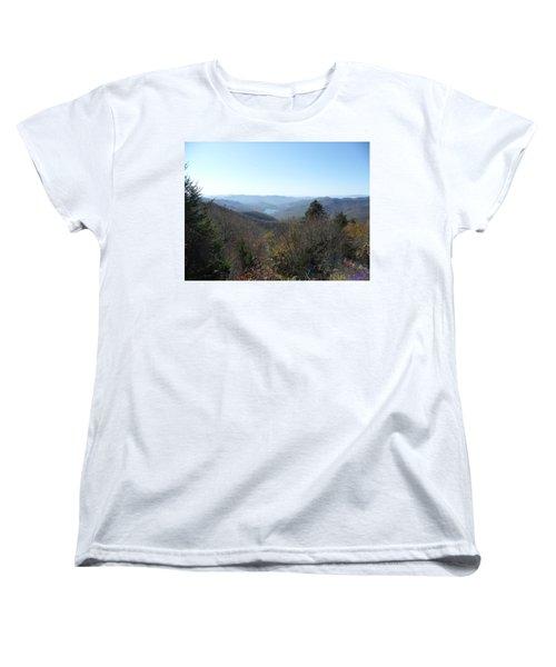 Smokies 16 Women's T-Shirt (Standard Cut) by Val Oconnor