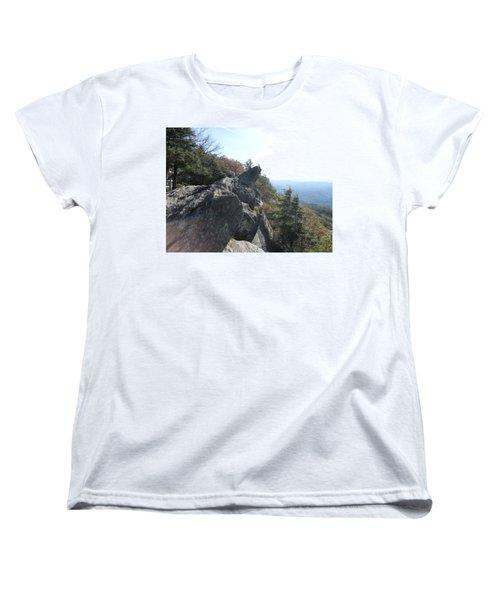 Smokies 18 Women's T-Shirt (Standard Cut) by Val Oconnor