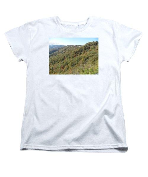 Smokies 19 Women's T-Shirt (Standard Cut) by Val Oconnor