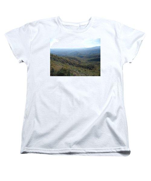 Smokies 20 Women's T-Shirt (Standard Cut) by Val Oconnor
