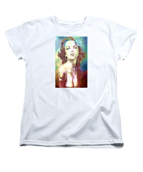 Smoking Chick Women's T-Shirt (Standard Cut)