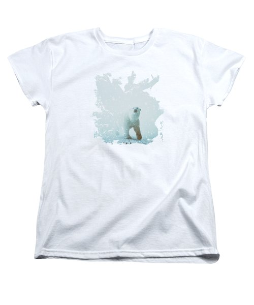 Snow Patrol Women's T-Shirt (Standard Cut) by Katherine Smit