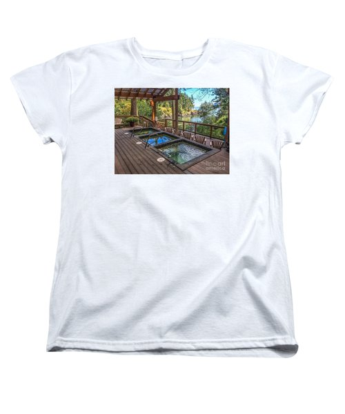 Women's T-Shirt (Standard Cut) featuring the photograph Soak In Doe Bay by William Wyckoff