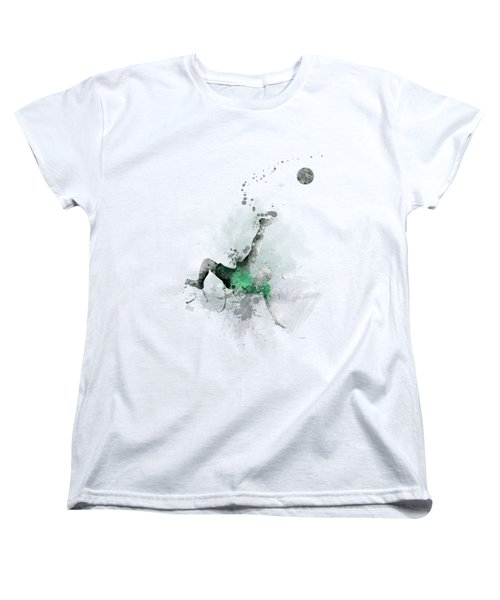 Soccer Player Women's T-Shirt (Standard Cut)
